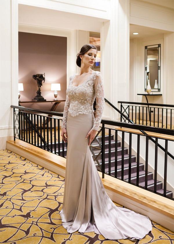 de challie designer dress Canberra Couture Designer